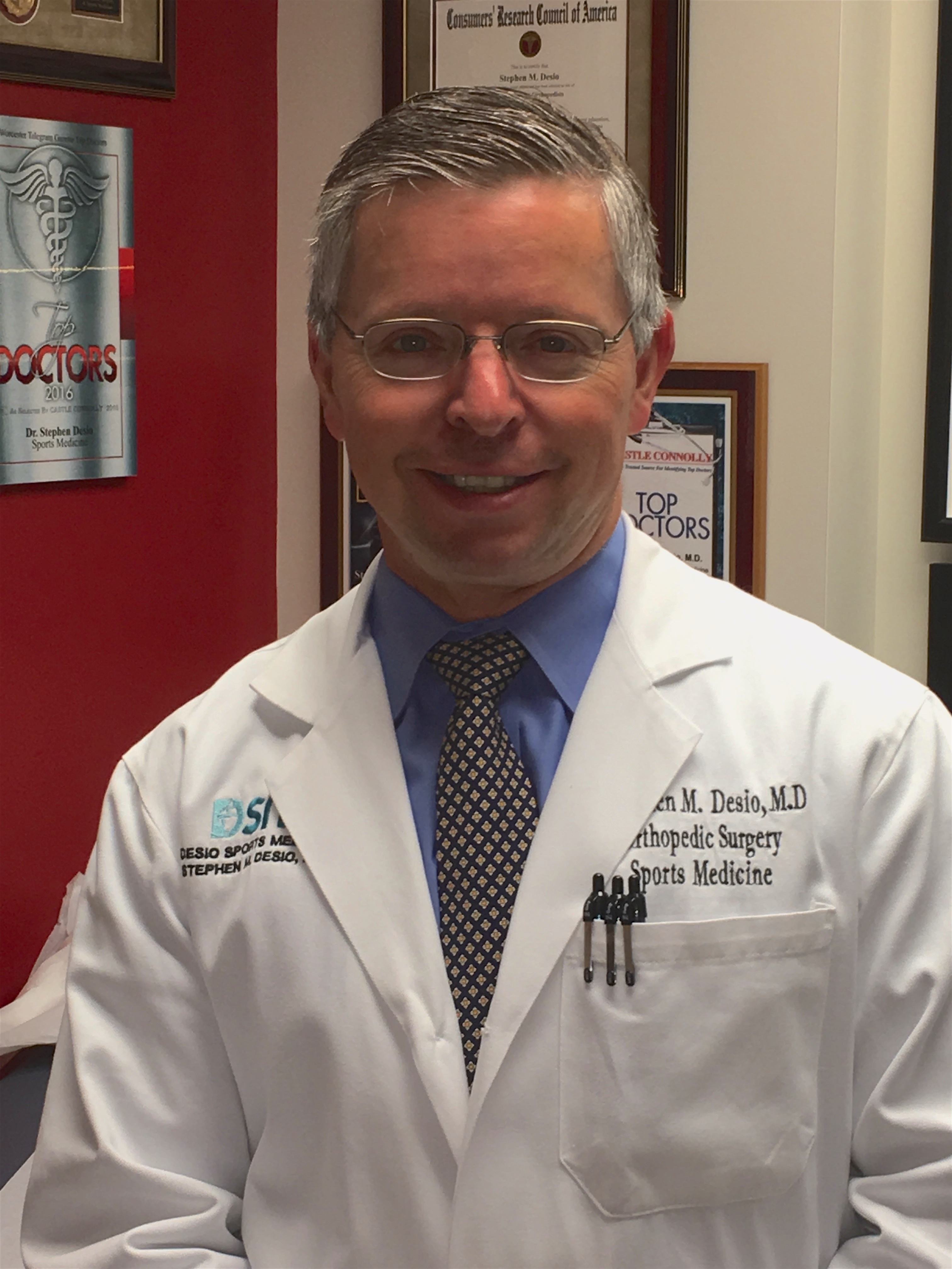 Orthopedic Surgeon Dr Stephen M Desio Md Worcester